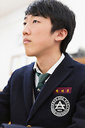 Student Ji hoon Park. Shinil High School, Seoul, South Korea.