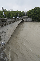 59754185<br /> Floods at Peace Angels, Munich, Germany, June 3, 2013 .UK ONLY, June 3, 2013 .UK ONLY