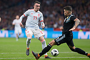 Iago Aspas of Spain during the International friendly game football match between Spain and Argentina on march 27, 2018 at Wanda Metropolitano Stadium in Madrid, Spain - Photo Rudy / Spain ProSportsImages / DPPI / ProSportsImages / DPPI