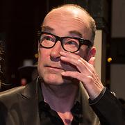 NLD/Amsterdam/20140307 - Boekenbal 2014, Bart Chabot en partner Jolanda van den Burg