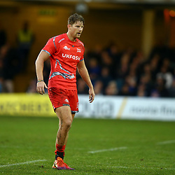 Rob du Preez of Sale Sharks during the Gallagher Premiership match between Bath Rugby and Sale Sharks at the The Recreation Ground Bath England.2nd December 2018,(Photo by Steve Haag Sports)