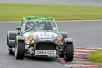 #16 Samantha McPartland Caterham Roadsport during the Avon Tyres Caterham Roadsport Championship at Oulton Park, Little Budworth, Cheshire, United Kingdom. August 13 2016. World Copyright Peter Taylor/PSP.