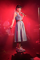 Lilly Allen in concert in Sheffield