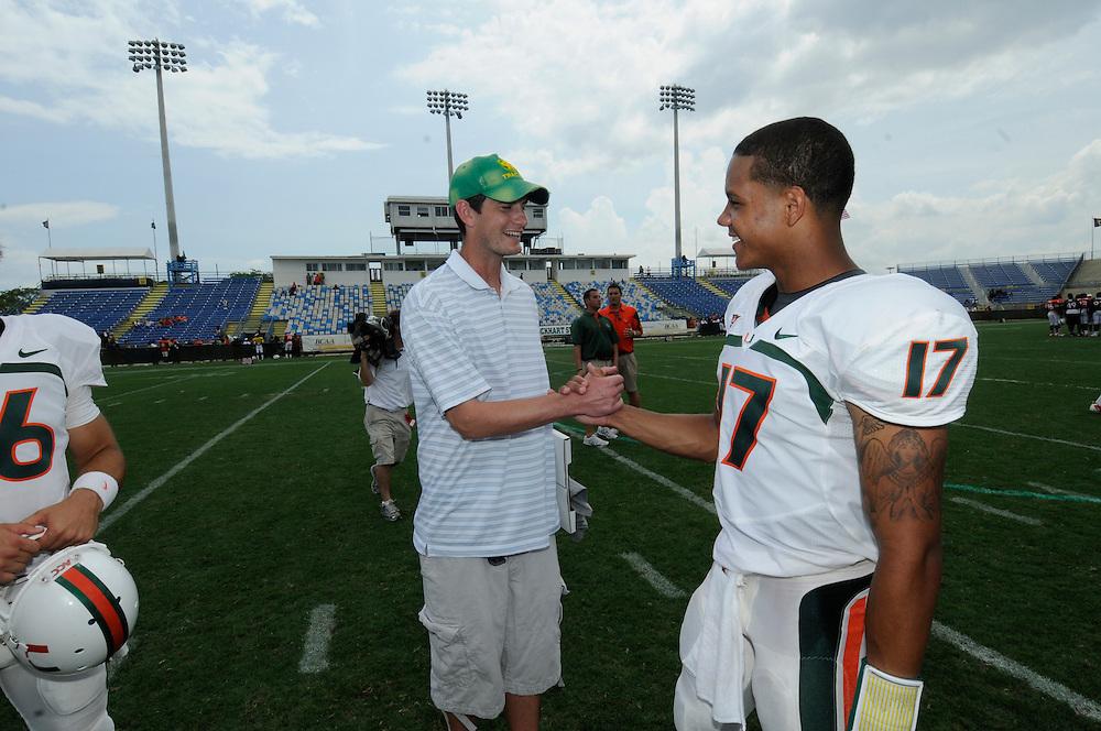 2011 Miami Hurricanes Spring Football @ Lockhart Stadium