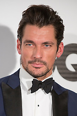 NOV 03 2014 David Gandy attends the GQ Men Of The Year Awards 2014