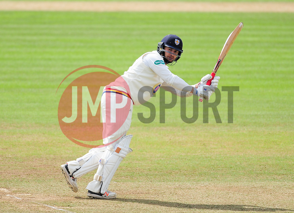 Mark Stoneman of Durham in action.  - Mandatory by-line: Alex Davidson/JMP - 04/08/2016 - CRICKET - The Cooper Associates County Ground - Taunton, United Kingdom - Somerset v Durham - County Championship