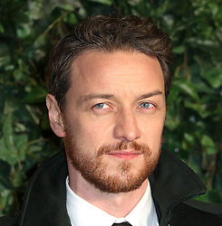 © Licensed to London News Pictures. 13/11/2016. London, UK, James McAvoy, Evening Standard Theatre Awards, Photo credit: Richard Goldschmidt/LNP