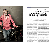 Portrait series of professional cyclist Emma Pooley.<br />