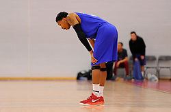 Bristol Flyers' Bree Perine  - Photo mandatory by-line: Joe Meredith/JMP - Mobile: 07966 386802 - 21/02/2015 - SPORT - Basketball - Bristol - SGS Wise Campus - Bristol Flyers v Plymouth Uni Raiders - British Basketball League