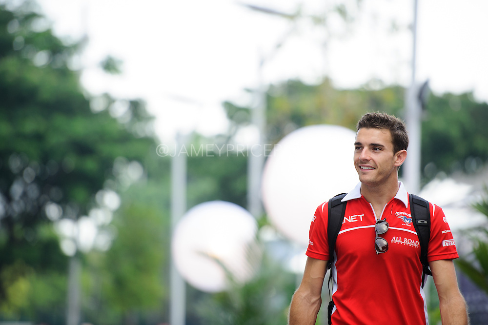 September 18-21, 2014 : Singapore Formula One Grand Prix - Jules Bianchi, Marussia