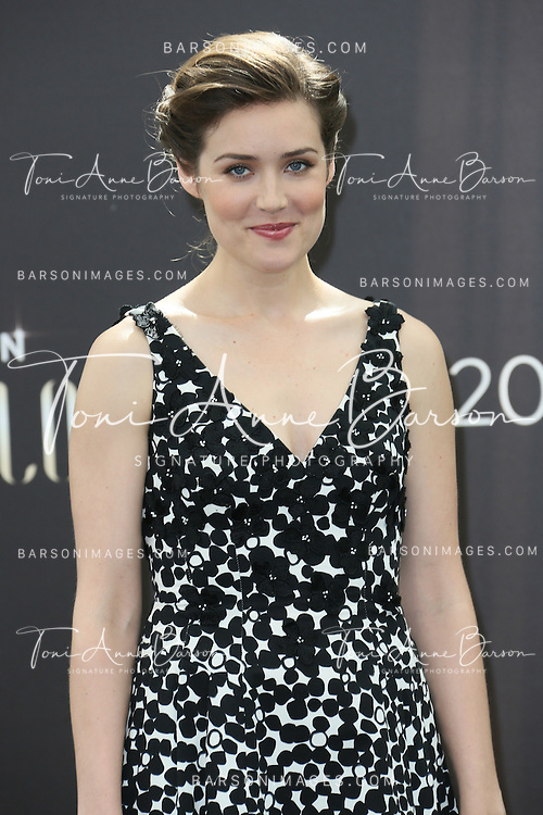"MONTE-CARLO, MONACO - JUNE 10:  Megan Boone attends ""The Blacklist"" Photocall at the Grimaldi Forum on June 10, 2014 in Monte-Carlo, Monaco.  (Photo by Tony Barson/FilmMagic)"