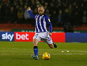 Sheffield Wednesday midfielder Barry Bannan (10)  during the EFL Sky Bet Championship match between Sheffield United and Sheffield Wednesday at Bramall Lane, Sheffield, England on 9 November 2018.