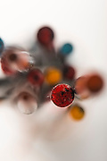 Paint By Numbers, a series of photographs of paintbrushes.