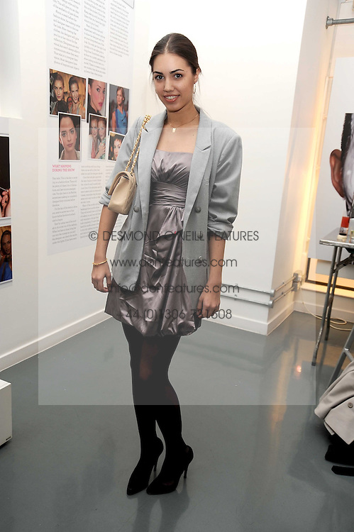 AMBER LE BON at a party to celebrate the launch of the Bobbi Brown Makeup Manual held at the Getty Images Gallery, 46 Eastcastle Street, London W1 on 29th January 2009.