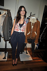 DAISY LOWE at a party hosted by Petra Ecclestone at Matches, 87 Marylebone High Street, London on 7th September 2009.