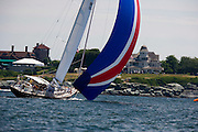 Palawan racing at the Newport Bucket Regatta