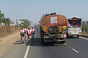 Team Radio Shack, Tour of India, Nashik Stage Warm Up Spin - Nashik