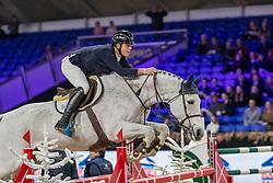 Van Dyck Jens, BEL, Garrincha Hedoniste<br /> Jumping Mechelen 2019<br /> © FEI/Dirk Caremans<br />  30/12/2019