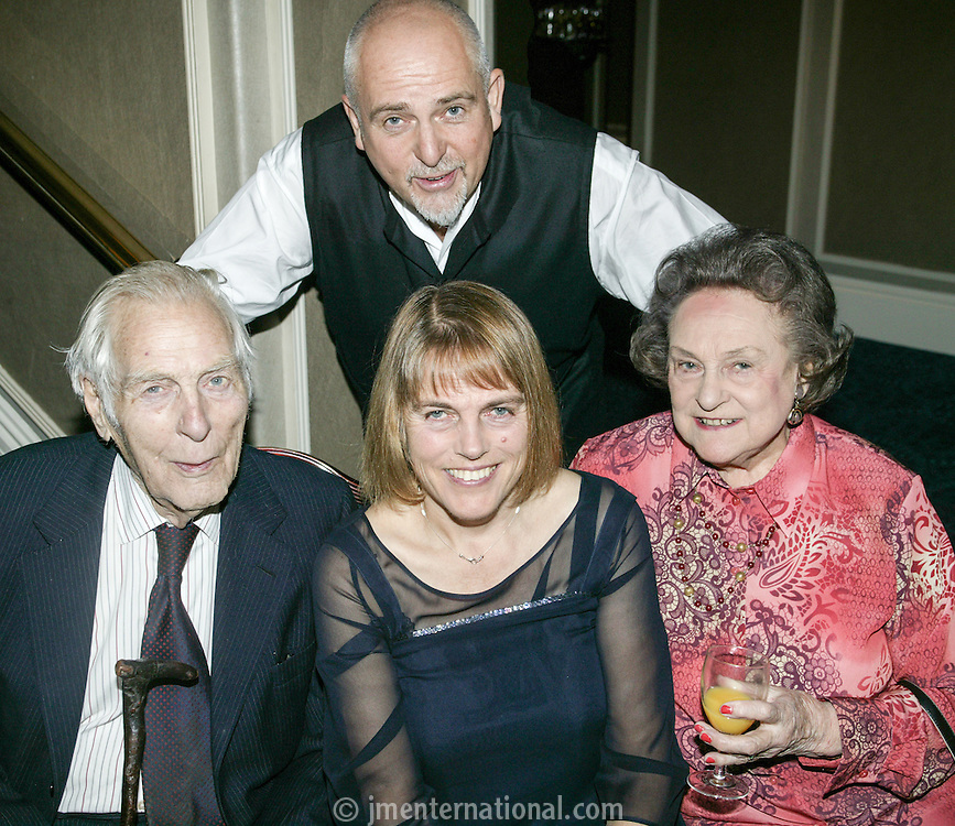Peter Gabriel and family