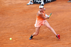 May 17, 2018 - Rome, Rome, Italy - 16th May 2018, Foro Italico, Rome, Italy; Italian Open Tennis; Johanna Konta (GBR) during her match against Jelena Ostapenko (LAT)  Credit: Giampiero Sposito/Pacific Press  (Credit Image: © Giampiero Sposito/Pacific Press via ZUMA Wire)