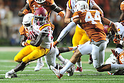 AUSTIN, TX - OCTOBER 18:  DeVondrick Nealy #20 of the Iowa State Cyclones breaks free against the Texas Longhorns on October 18, 2014 at Darrell K Royal-Texas Memorial Stadium in Austin, Texas.  (Photo by Cooper Neill/Getty Images) *** Local Caption *** DeVondrick Nealy