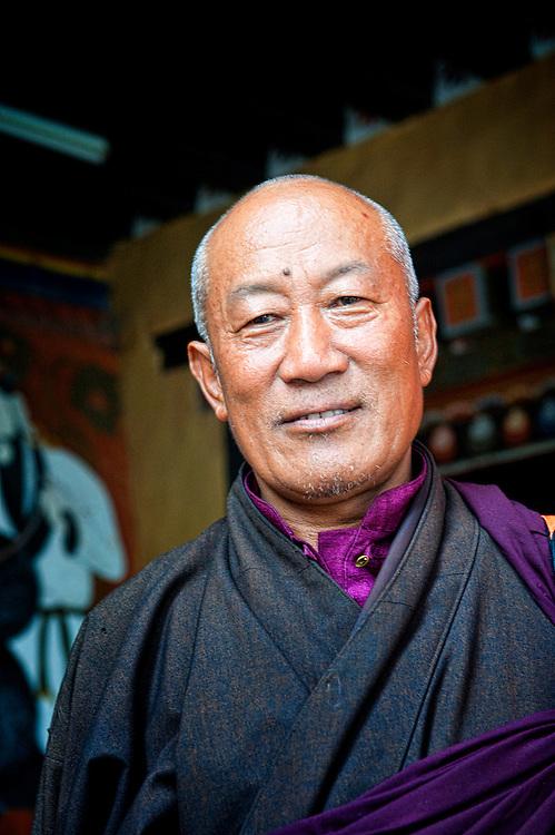 Paro Dzong Bhutan, where director Bernardo Bertolucci direct a part of The Last Emperor movie