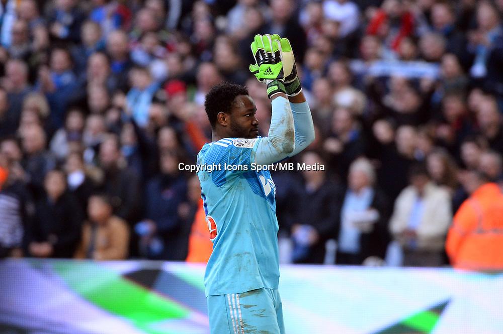 Steve MANDANDA - 21.12.2014 - Marseille / Lille - 19eme journee de Ligue 1 -<br />Photo : Gaston Petrelli / Icon Sport