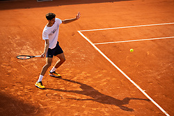 May 27, 2019 - Paris, France - Entrainement de Pierre-Hugues Herbert (Credit Image: © Panoramic via ZUMA Press)