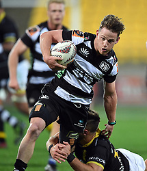 Hawkes Bay's Brad Weber against Wellington in the Mitre 10 Cup rugby match at Westpac Stadium, Wellington, New Zealand, Wednesday, September 06, 2017. Credit:SNPA / Ross Setford  **NO ARCHIVING**