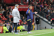 Burton Albion manager Nigel Clough reacts during the EFL Cup match between Manchester United and Burton Albion at Old Trafford, Manchester, England on 19 September 2017. Photo by Richard Holmes.