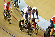 Women Omnium, Kirsten Wild (Netherlands), Katie Archibald (Great Britain) during the Track Cycling European Championships Glasgow 2018, at Sir Chris Hoy Velodrome, in Glasgow, Great Britain, Day 5, on August 6, 2018 - Photo luca Bettini / BettiniPhoto / ProSportsImages / DPPI<br /> - Restriction / Netherlands out, Belgium out, Spain out, Italy out -