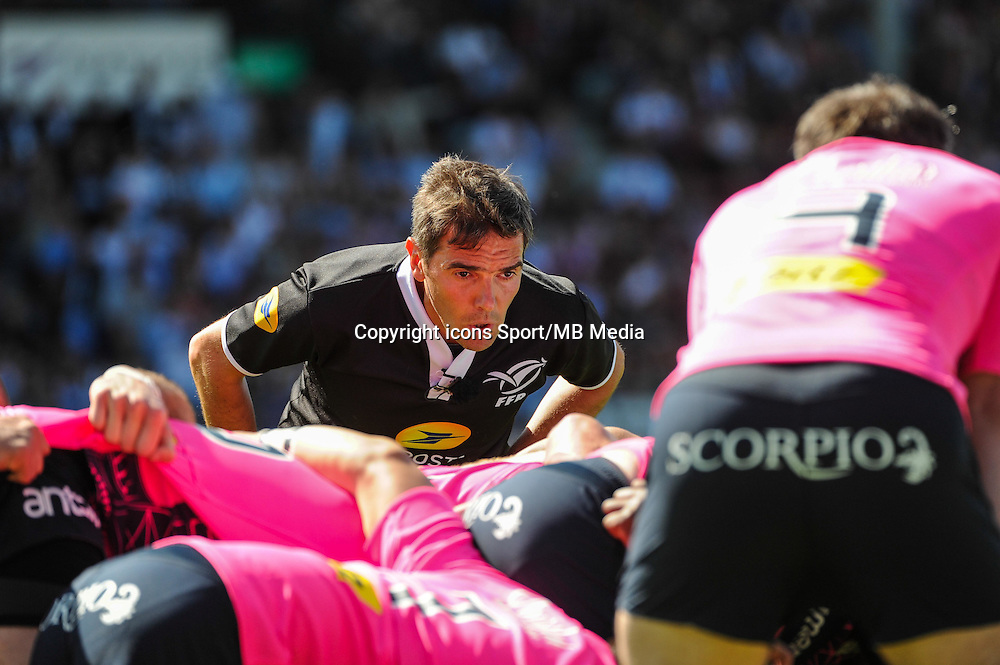 Jerome GARCES  - 10.05.2015 - Racing Metro / Stade Francais - 24eme journee Top 14<br /> Photo : Nolwenn Le Gouic / Icon Sport