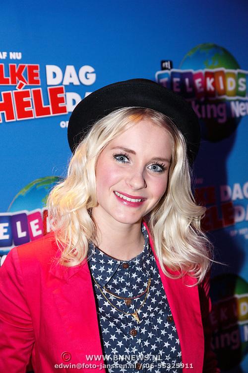 NLD/Hilversum/20160129 - K3 bij RTL Telekids, Keet, Janouk Kelderman