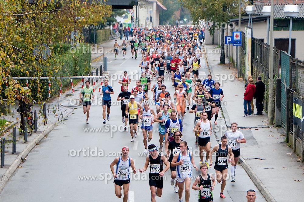Marathon Ljubljana on October 24, 2010 in Ljubljana, Slovenia. (Photo By Matic Klansek Velej / Sportida.com)
