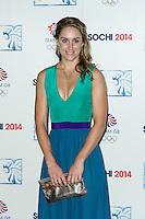 Amy Williams, British Olympic Ball, Dorchester (Opal Room), London UK, 30 October 2013, Photo by Raimondas Kazenas
