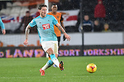 Derby County's Jeff Hendrick  during the Sky Bet Championship match between Hull City and Derby County at the KC Stadium, Kingston upon Hull, England on 27 November 2015. Photo by Ian Lyall.
