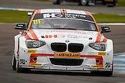 Andy Priaulx #111 | Team IHG Rewards Club | BMW 125i M Sport, during the Dunlop MSA British Touring Car Championship at Donington Park, Castle Donington, United Kingdom on 19 April 2015. Photo by Aaron Lupton.