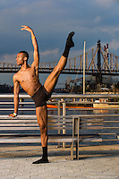 New York City Dance Photography- Dance As Art Gantry State Park with dancer Daniel White