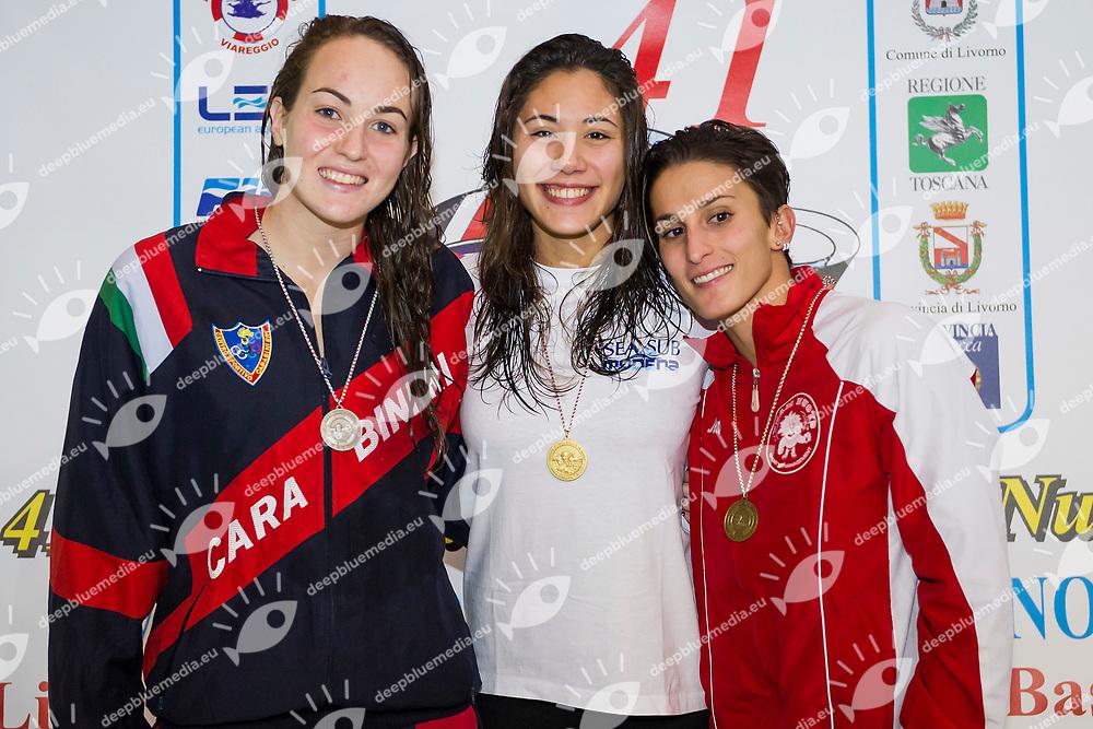 Zofkova. Quaglieri, Neri<br /> 50 Dorso<br /> 41 Trofeo Mussi - Lombardi - Femiano<br /> Nuoto, Swimming<br /> Livorno, Italia <br /> 18 novembre 2017<br /> Photo A.Masini/Insidefoto/Deepbluemedia