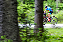 Blaza Pintaric competes at Sloveian Road Cycling Championship Time Trial 2020 Gorje - Pokljuka, on June 28, 2020 in Pokljuka, Slovenia. Photo by Matic Klansek Velej / Sportida