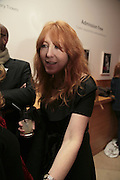 CHARLOTTE TILBURY, Face of Fashion private view. National Portrait Gallery. London. 12 February 2007.  -DO NOT ARCHIVE-© Copyright Photograph by Dafydd Jones. 248 Clapham Rd. London SW9 0PZ. Tel 0207 820 0771. www.dafjones.com.