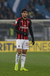 February 26, 2019 - Rome, Italy - Lucas Paqueta during the Italian Cup football match between SS Lazio and AC Milan at the Olympic Stadium in Rome, on february 26, 2019. (Credit Image: © Silvia Lore/NurPhoto via ZUMA Press)