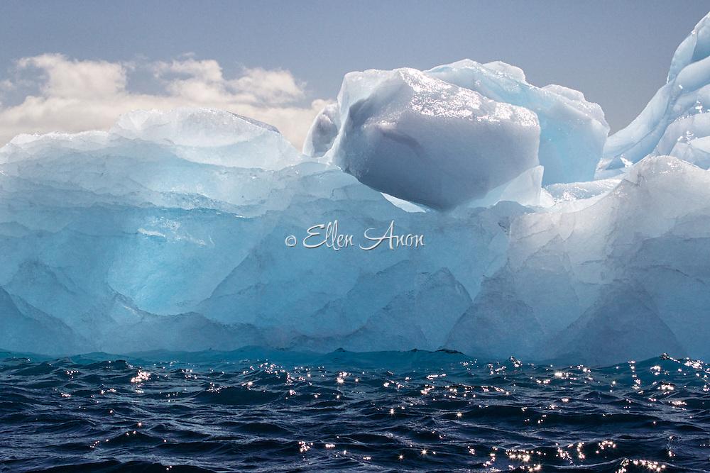 Curtis Bay, icebergs, Antarctica