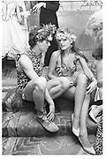Hugh Grant; Marina Killery. Piers Gaveston Ball. Park Lane Hotel London. 13 May 1983 ? Copyright Photograph by Dafydd Jones 248 Clapham Rd. London SW9 0PZ. 0207 820 0771.  www.dafjones.com