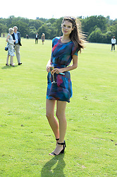 SARAH ANN MACKLIN at the Audi Polo Challenge 2013 at Coworth Park Polo Club, Berkshire on 3rd August 2013.