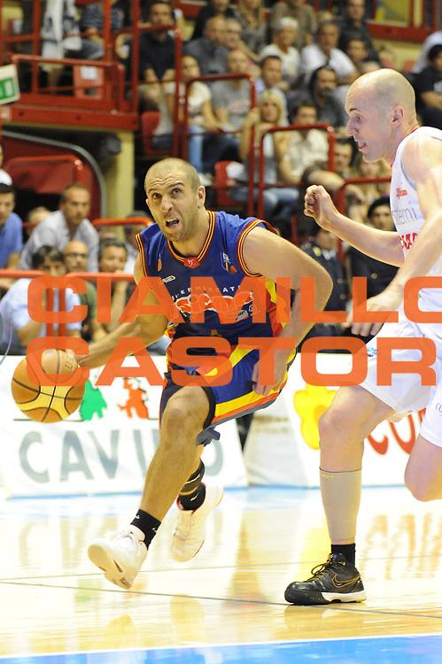 DESCRIZIONE : Forli LNP Lega Nazionale Pallacanestro Serie A Dilettanti 2009-10 Playoff Finale Gara2 Vemsistemi Forli Sigma Barcellona<br /> GIOCATORE : Francesco Guarino<br /> SQUADRA : Sigma Barcellona<br /> EVENTO : Lega Nazionale Pallacanestro 2009-2010 <br /> GARA : Vemsistemi Forli Sigma Barcellona<br /> DATA : 25/05/2010<br /> CATEGORIA : penetrazione<br /> SPORT : Pallacanestro <br /> AUTORE : Agenzia Ciamillo-Castoria/M.Marchi<br /> Galleria : Lega Nazionale Pallacanestro 2009-2010 <br /> Fotonotizia : Forli LNP Lega Nazionale Pallacanestro Serie A Dilettanti 2009-10 Playoff Finale Gara2 Vemsistemi Forli Sigma Barcellona<br /> Predefinita :