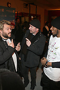 "Jack Black and Edge and MOS DEF attend the screening of his new film, ""Be Kind Rewind"" starring Jack Black, Danny Glover and Melanie Diaz at the 2008 Sundance Film Festival."