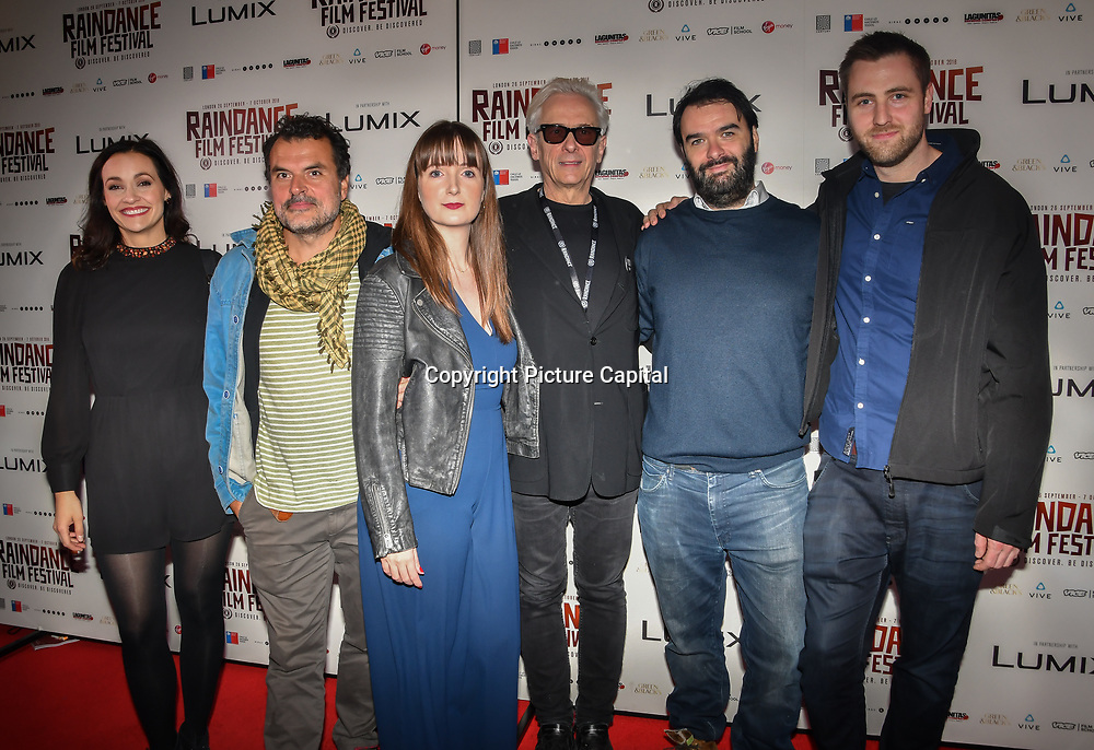 Elliot Grove and Director Brooke Colman of Fire in Grenfell crews attend World Premiere of Team Khan - Raindance Film Festival 2018 at Vue Cinemas - Piccadilly, London, UK. 29 September 2018.