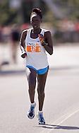 Ottawa, Ontario ---25/05/08--- Tabitha Kibet runs during the ING Ottawa Marathon, May 26, 2008..GEOFF ROBINS /