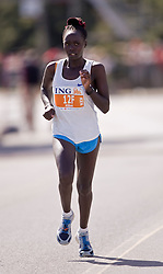 Ottawa, Ontario ---25/05/08--- Tabitha Kibet runs during the ING Ottawa Marathon, May 26, 2008..GEOFF ROBINS /